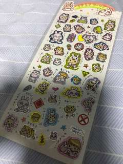 日本貼紙兔仔