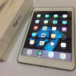 IPAD MINI WHITE 16GB