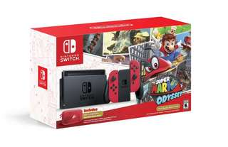 Wanted to Sell Brand New Mario Odyssey Nintendo Switch Console.