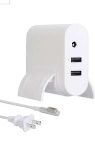"Macbook Air Charger,  45W ""L""Tip Magsafe 1 Power Adapter Charger With 2-Port USB for Apple MacBook Air 11inch 13 inch"
