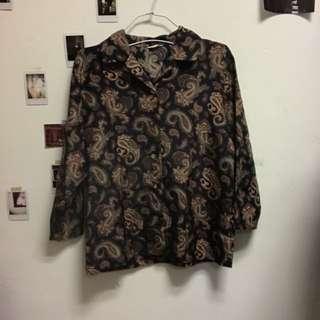 Vintage 古著復古變形蟲襯衫