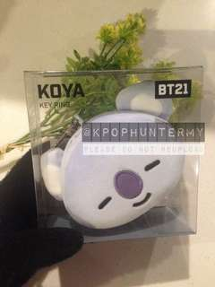 [Exclusive Original] BT21 Koya Keyring