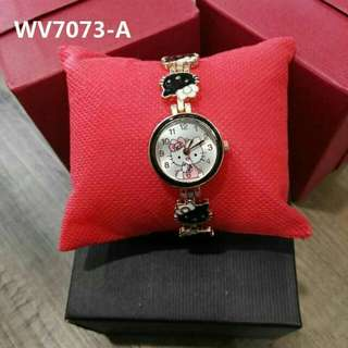 Hello kitty watch with box