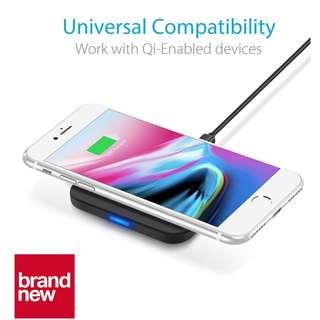 (Brand New) COETECH Qi 7.5W iPhone 8 / X & Galaxy S9 / Note 8 Universal Wireless Charging Pad - $25