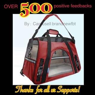 Pet carrier pet bag portable net bag cat dog rabbit