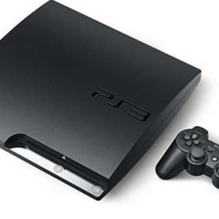 Looking ps3 slim and controller with fps games