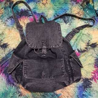 Cotton On Denim Backpack