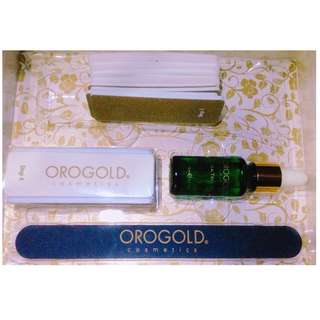 Orogold Manicure Nail Care kit