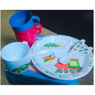 Children's Dinnerware set for baby boys