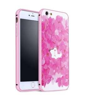 金屬邊框 粉紅玫瑰貓 立體浮雕 超輕手機殼 原價$128 特價$70