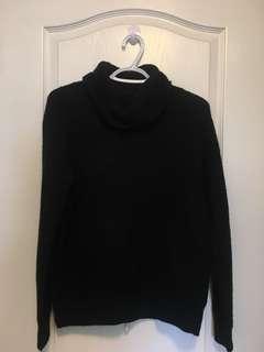 F21 Knit Turtleneck Sweater (S/Black)