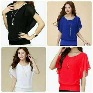 Turtleneck blouse (085)
