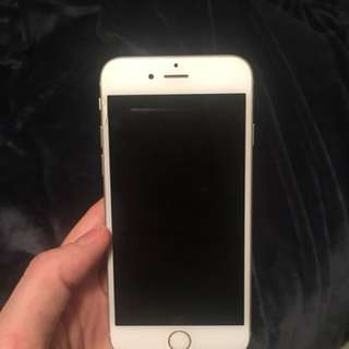IPhone 6 64GB unlocked white and grey