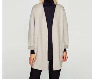 Zara Light Jacket (S/Light Beige)
