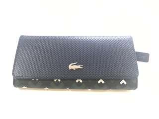 Authentic Lacoste Long Women's Wallet