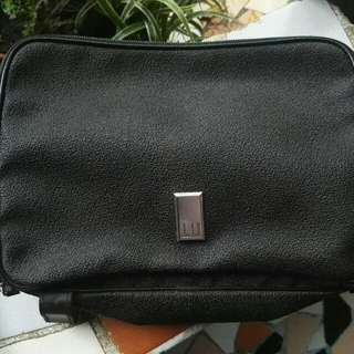 Dunhill Authentic Leather Clutch/Purse Bag for Men and Women
