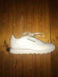 White Reebok Classics