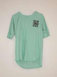 Young girls gym shirt