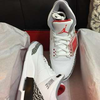 Air Jordan 3 JTH SIZE 10.5 DEADSTOCK!!!!