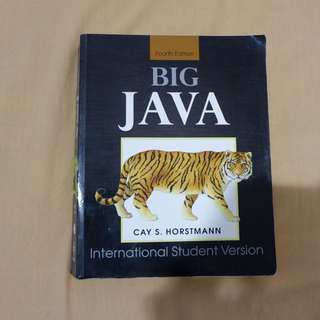 Buku Big Java - Fourth Edition