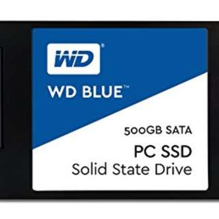 Western Digital's WD Blue 500GB SSD Desktop or Laptop