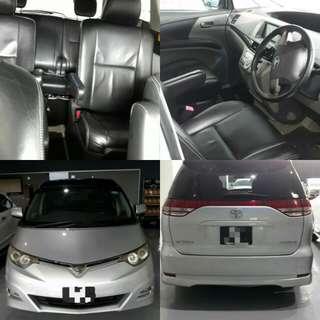 Toyota Estima 2.4A Aeras (7 Seater) Silver