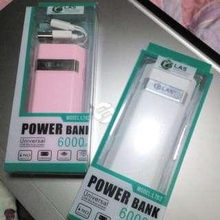 LAS 6000mAh Lithium Alloy Powerbank