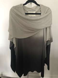 Ombré Shawl/Cape - Size Medium - Never worn