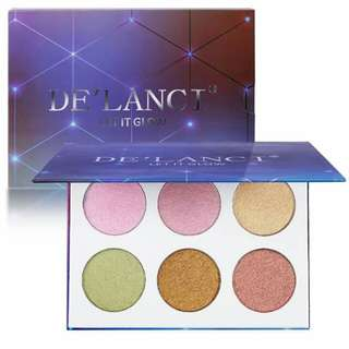Authentic De'Lanci Highlighter and bronzer