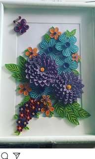 Customisable Paper Quilling wall hangings