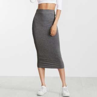 Pencil skirt (grey)