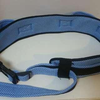 Moving patient belt