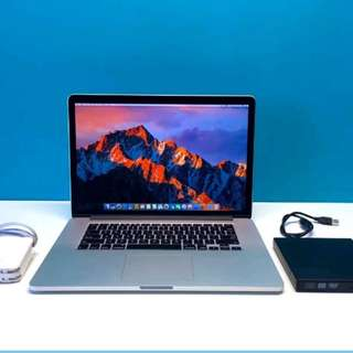 Ultimate 15 inch MacBook Pro Retina  UGPRADED 2.7Ghz Quad Core i7 - 512GB SSD