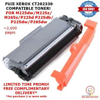 [INSTOCKS] Fuji Xerox High Yield CT202330 Compatible Toner M225dw M225z P225d P225db P265dw M265z
