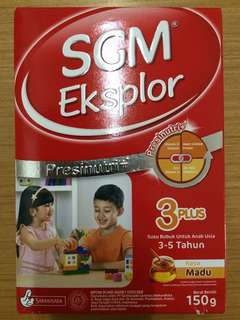 SGM 3+ Madu 150gr