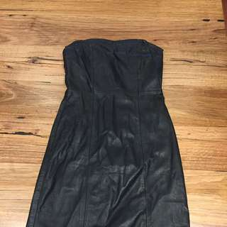 Leather Dress Size 8