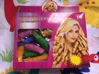 Magic hair curler