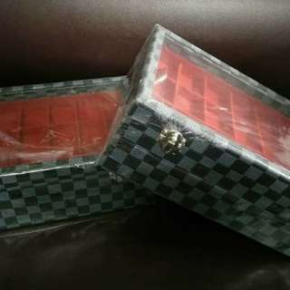 Amulet Box LV Damier (Blue)