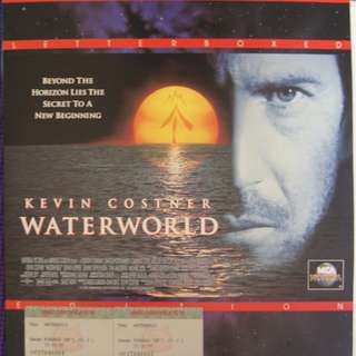 Laser Disc Movie -  M22  Water World