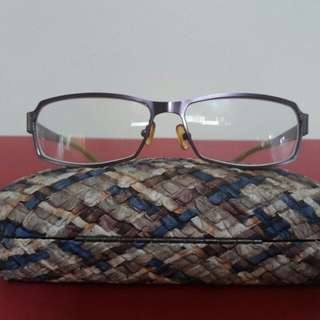 Made in Italy Eyeglass Frame
