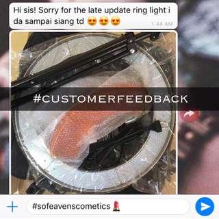 3# Customer Feedback