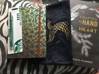 2017 Starbucks Siren Tail Planner with Erasable pen