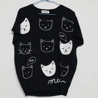 🚚 棉質貓咪上衣✨