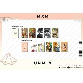 MXM UNMIX UNOFFICIAL PHOTO CARDS (5PC)