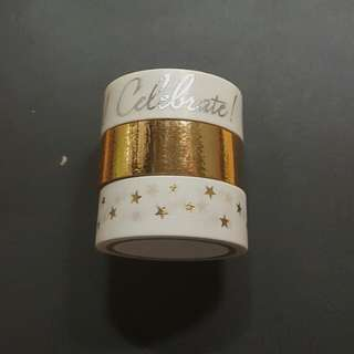Celebrate Washi Tape Set