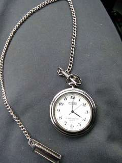 ROGAR Vintage .925 Silver pocket watch