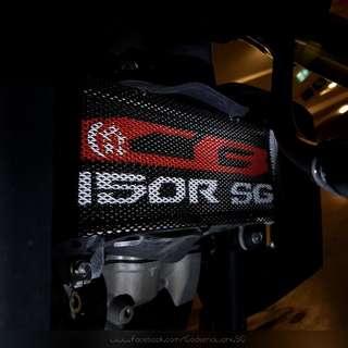 CB150R - Custom Radiator Guard by Godsendworx