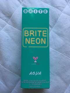 Brite Neon Aqua Hair Dye
