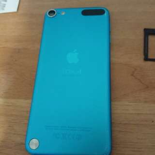 Ipod touch 5th gen blue