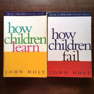 John Holt How Children Learn / How Children Fail